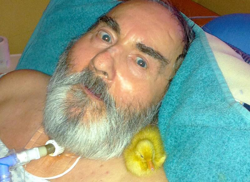 intensivpflege patient ente