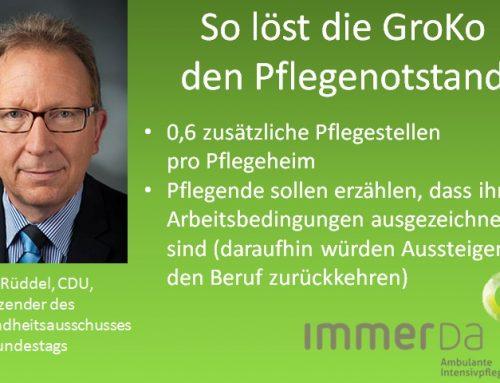Pflegekräfte gegen CDU-Politiker auf Twitter
