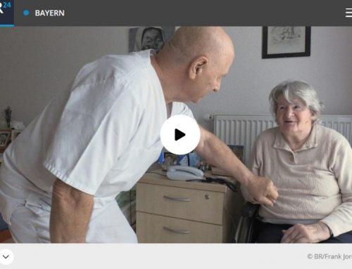 80 Jahre: Deutschlands ältester Pflege-Azubi