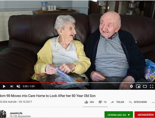 98-jährige Mutter zog in Pflegeheim, um sich um 80-jährigen Sohn zu kümmern